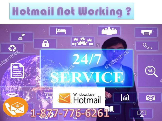 Quick Contact Hotmail Support 1-877-776-6261 for Hotmail not working