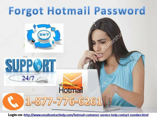 Call Now 1-877-776-6261 (Toll Free) for Forgot Hotmail Password  Solution