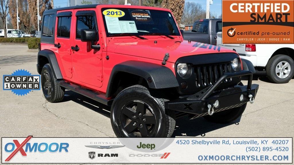 Jeep Wrangler Unlimited Unlimited Sahara 2013
