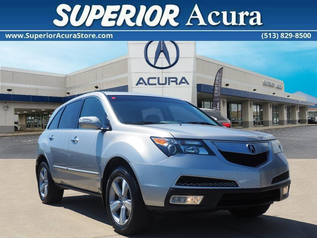 Acura MDX Technology 2011