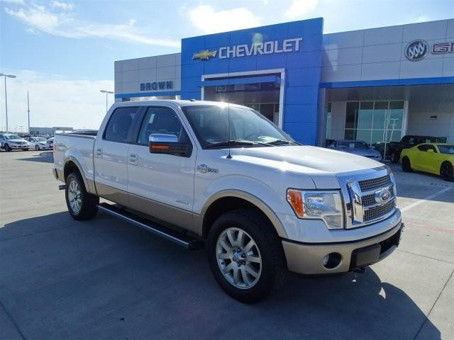 Ford F-150 4WD SuperCrew 157 FX4 2012