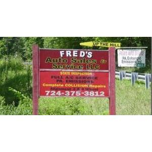 Fred's Auto Sales & Service, LLC