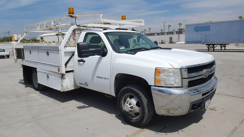2008 CHEVROLET 3500HD FLATBED TRUCK