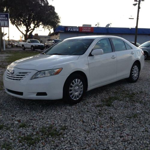 2007 Toyota Camry Le Clean Title