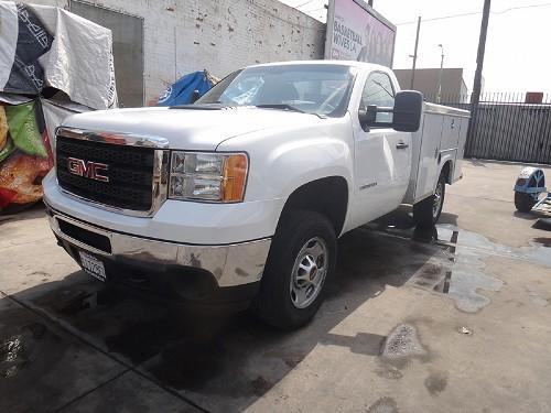 2013 GMC 2500 HD UTILITY BED EX-AAA BATTERY UNIT