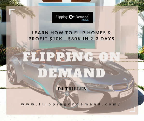 Learn How To Flip Properties And Make $10k-$30k in 2-3 Days!!