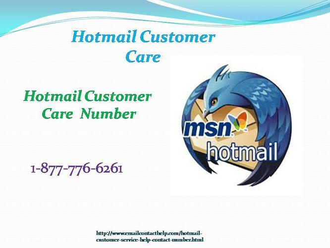 Now call @1-877-776-6261 Hotmail Customer CareNumber