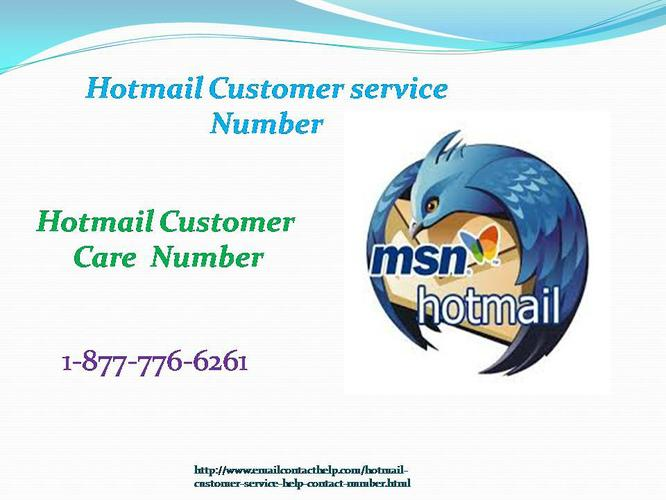 1-877-776-6261 is one of the best authorized Hotmail Customer Service Number