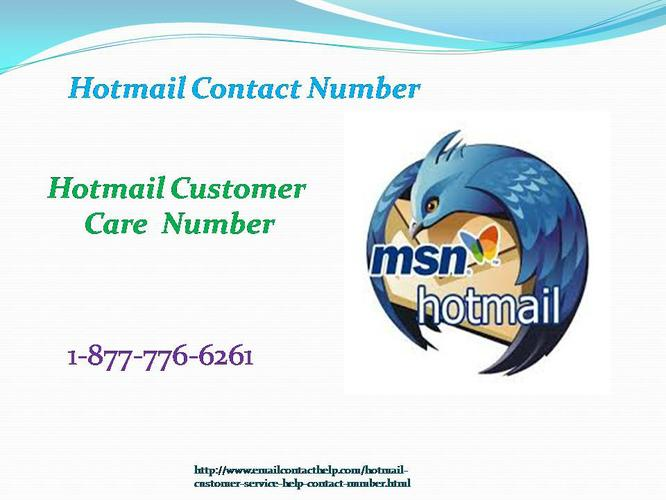 Protect email by Hotmail Contact Number 1-877-776-6261