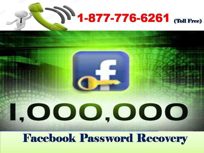 How to Solve Login Problem Dial 1-877-776-6261 Facebook Password Recovery