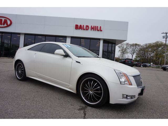 Cadillac CTS Coupe Performance AWD 2013