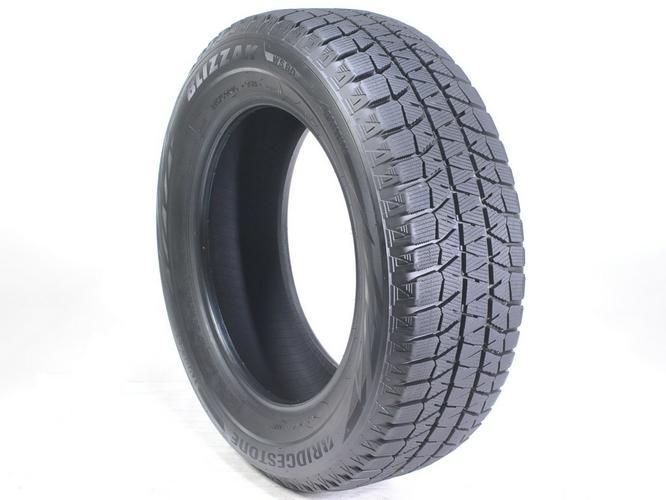 Four 215/60R16 Bridgestone Blizzak Tires