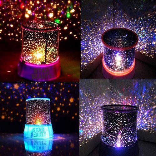Star Master LED Projector Night Lamp (Black)