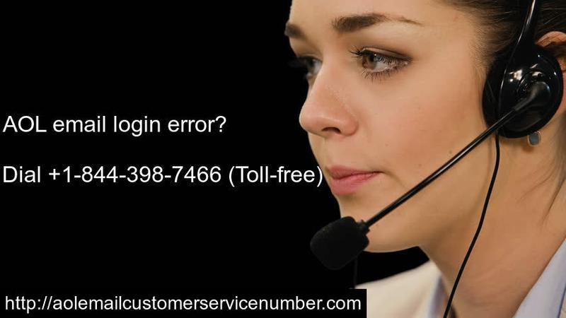 AOL email login error?