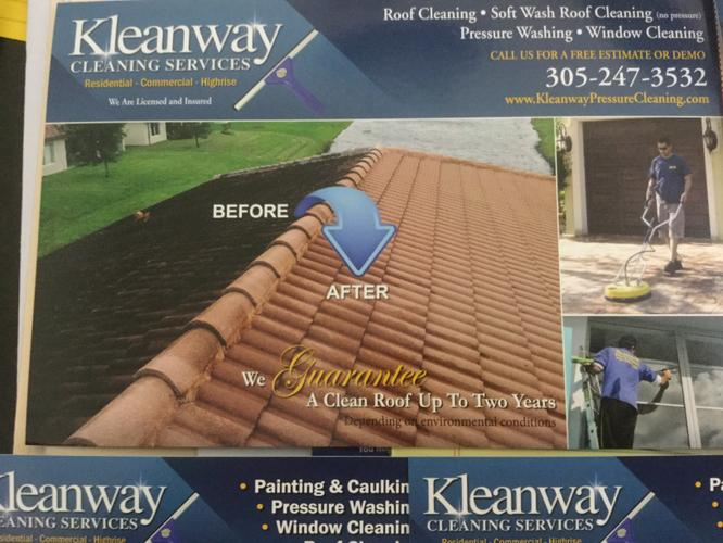 Roof cleaning and Pressure washing Service