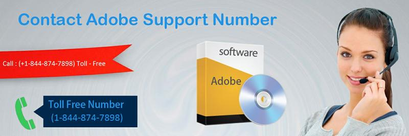 Instant Help (1-844-874-7898) Adobe Support Phone number – (Toll-Free)