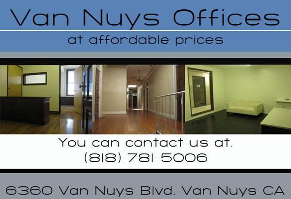 Van Nuys Office Rentals