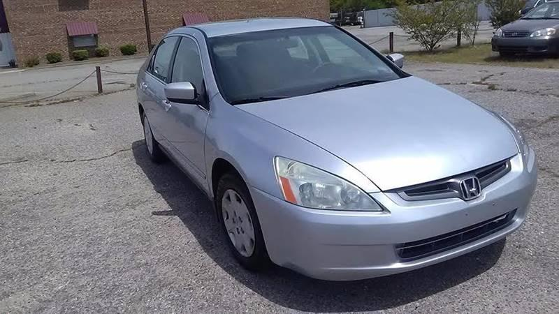 2003 Honda Accord  EX Auto V6 ULEV w/Leather/XM Sedan~ (856) 389-4896