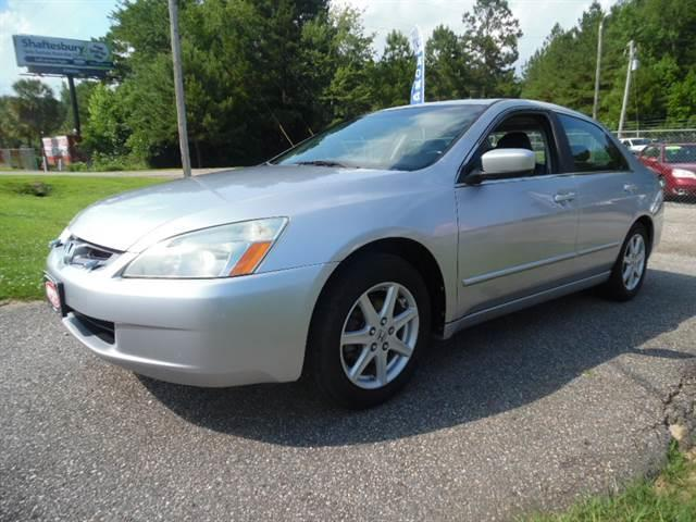 2003 Honda Accord  EX V-6 sedan6-Speed MT with X (856) 389-4896