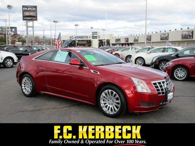 Cadillac CTS Coupe STD 2014