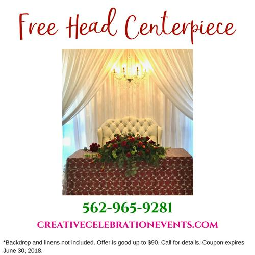 Free Head Centerpiece