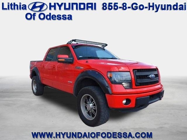 Ford F-150 4WD SuperCrew 145 FX4 2014
