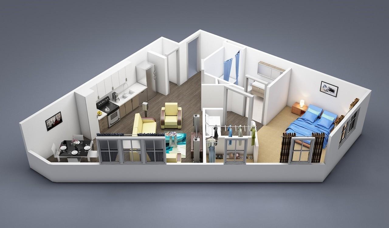 $1473 Studio Apartment for rent