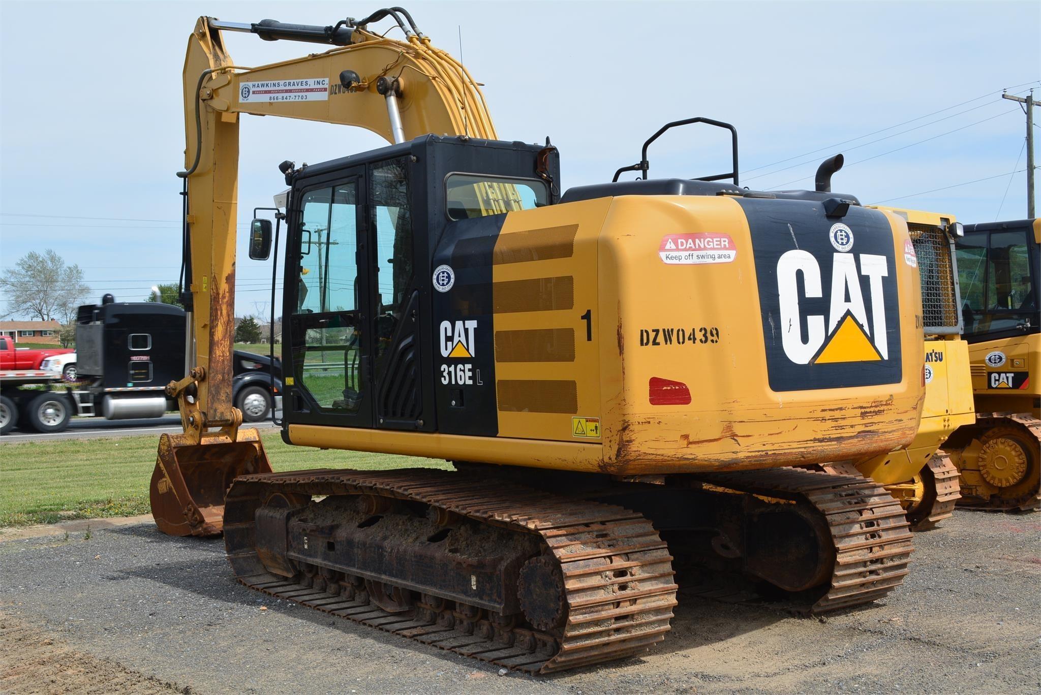 2012 CAT 316EL