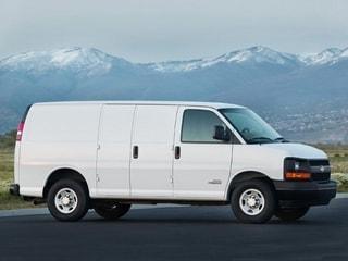 Chevrolet Express Commercial Cutaway Work Van 2006