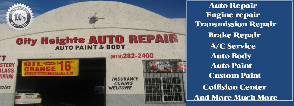 City Heights Auto Body
