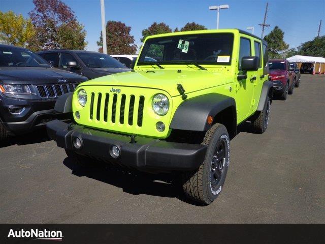 Jeep Wrangler Unlimited Sport 2016