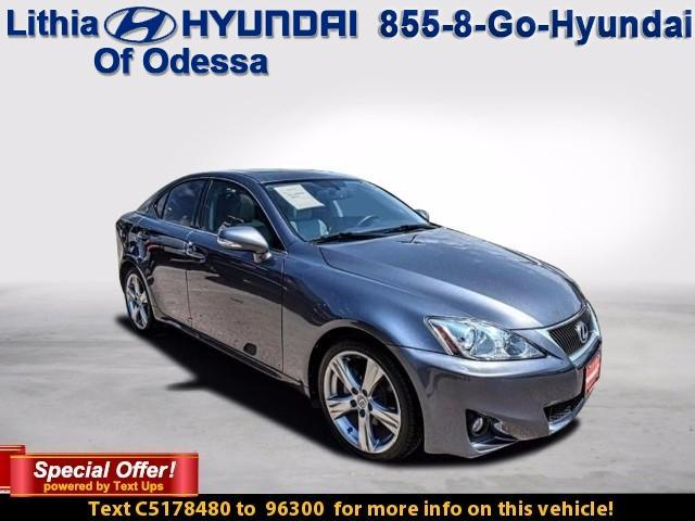 Lexus IS 250 4DR SPORT SDN AUTO RWD 2012