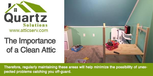 Quartz Solutions - Specialists in Attic & Crawl Space Cleaning and Insulation