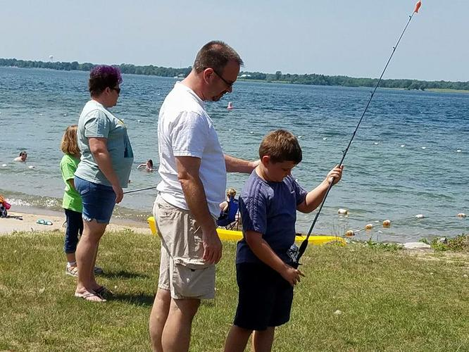 New York State  Free  Fishing  Weekend events at The Nicandri Nature Center