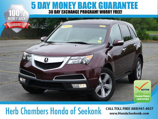 Acura MDX 3.7L w/ Navigation & Technology Package 2013