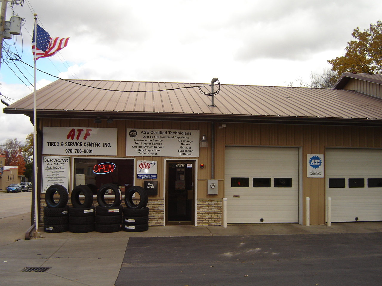 ATF Tires and Auto Repair