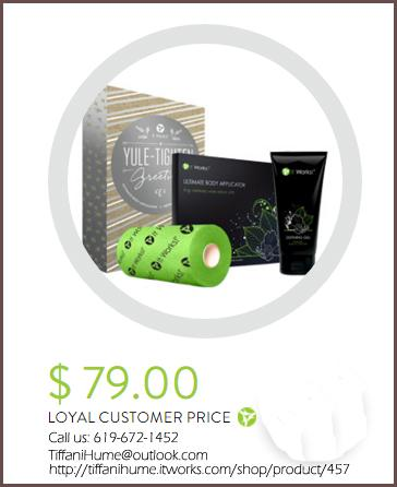 It Works! Yule Tighten Gift box: $79 Limited Offer