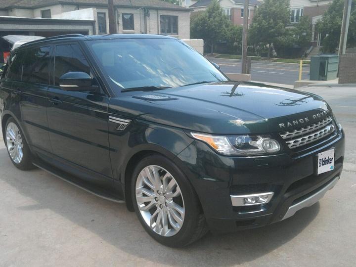Land Rover Range Rover Sport 4D SUV HSE 2015