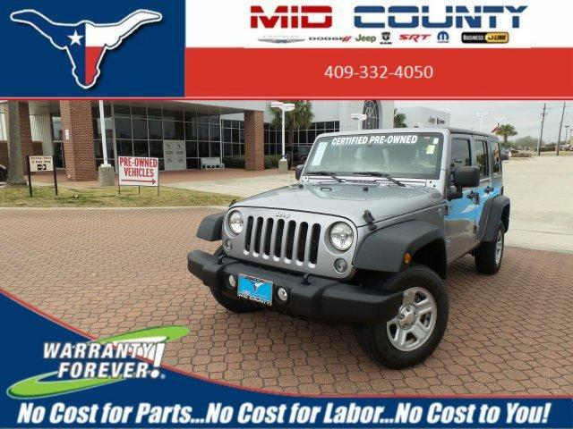 Jeep Wrangler Unlimited Unlimited Sport 2014