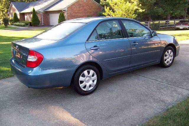 Blue 2003 Toyota Camry SE for sale
