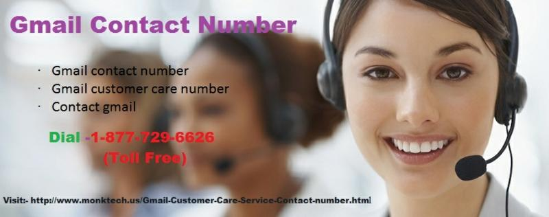 Gmail contact number 1-877-729-6626 Can Be Your One-Stop Destination