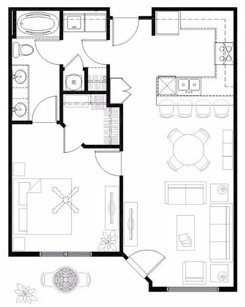 $1057 One bedroom Apartment for rent