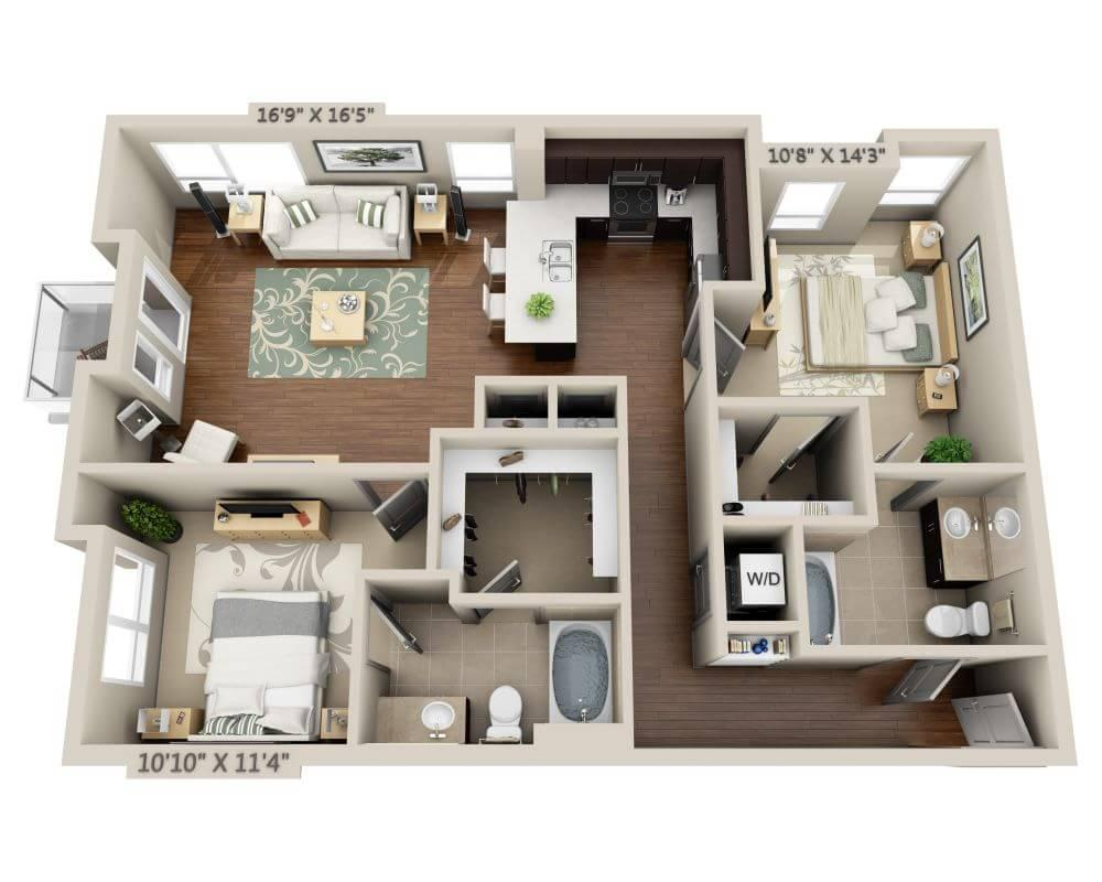 $3165 Two bedroom Apartment for rent