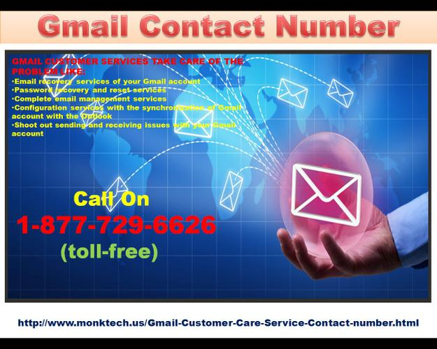 Any issues with your Gmail account? Dial 1-877-729-6626 Gmail Contact Number