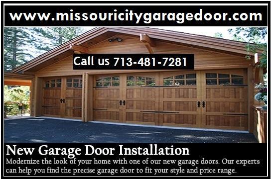 Top Garage door installation in Missouri city, TX | $26.95