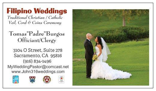 Filipino Wedding Vows