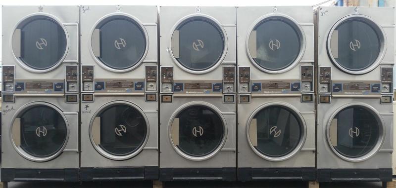 Huebsch JTD32DG Double Stack Dryer AS IS