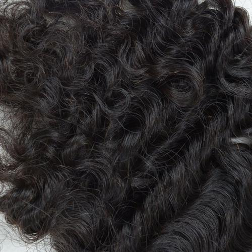 100% virgin human lace closure swiss lace top closure curly wave
