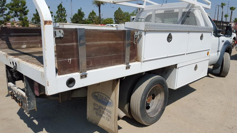 2006 FORD F450 FLATBED TRUCK