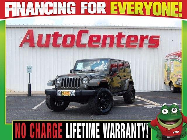 Jeep Wrangler Unlimited Unlimited Sahara 2015